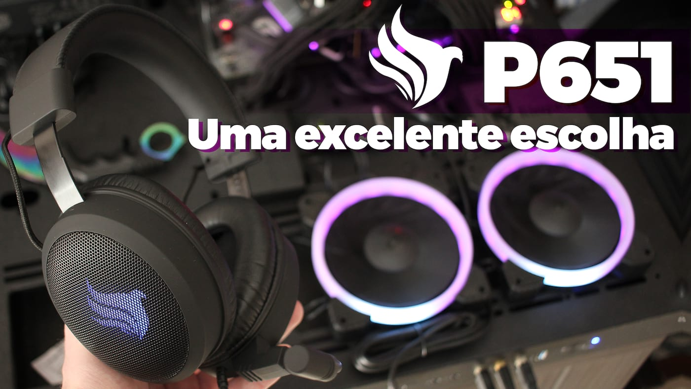 Review headset Pichau P651 | Barganha de R$ 300!