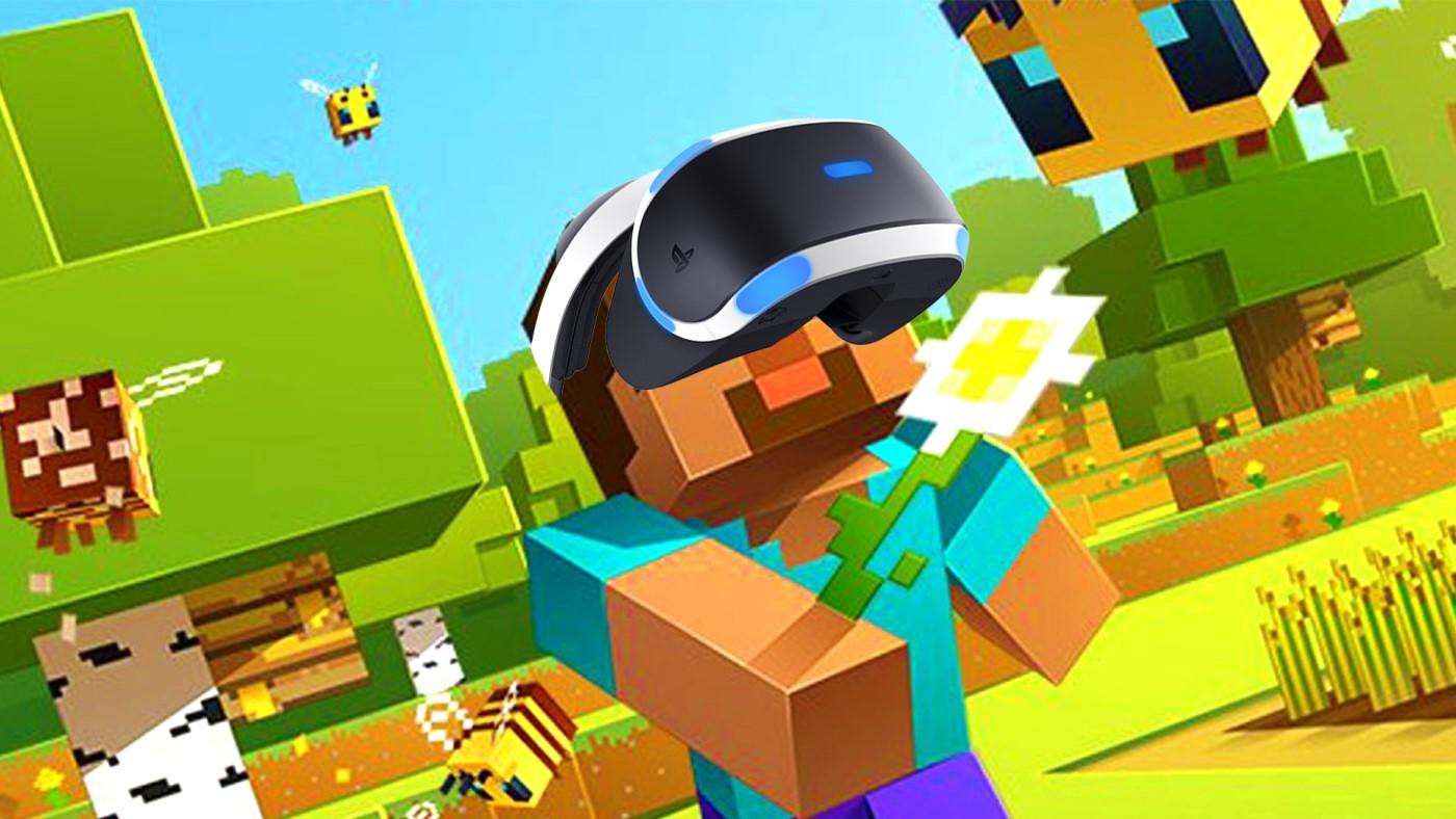 Minecraft ganha suporte ao Playstation VR em sua última