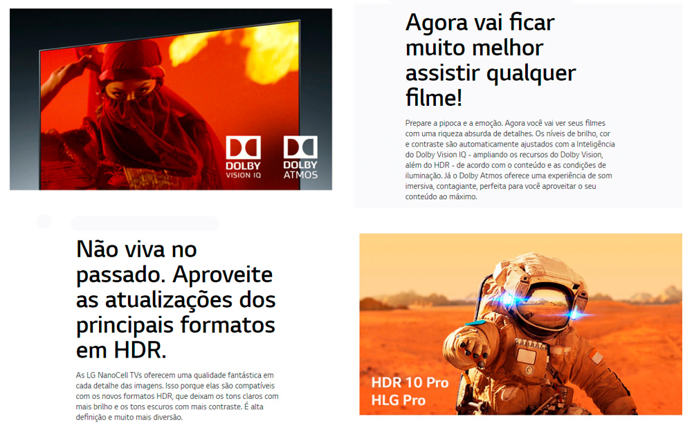 Dolby Vision IQ e HDR