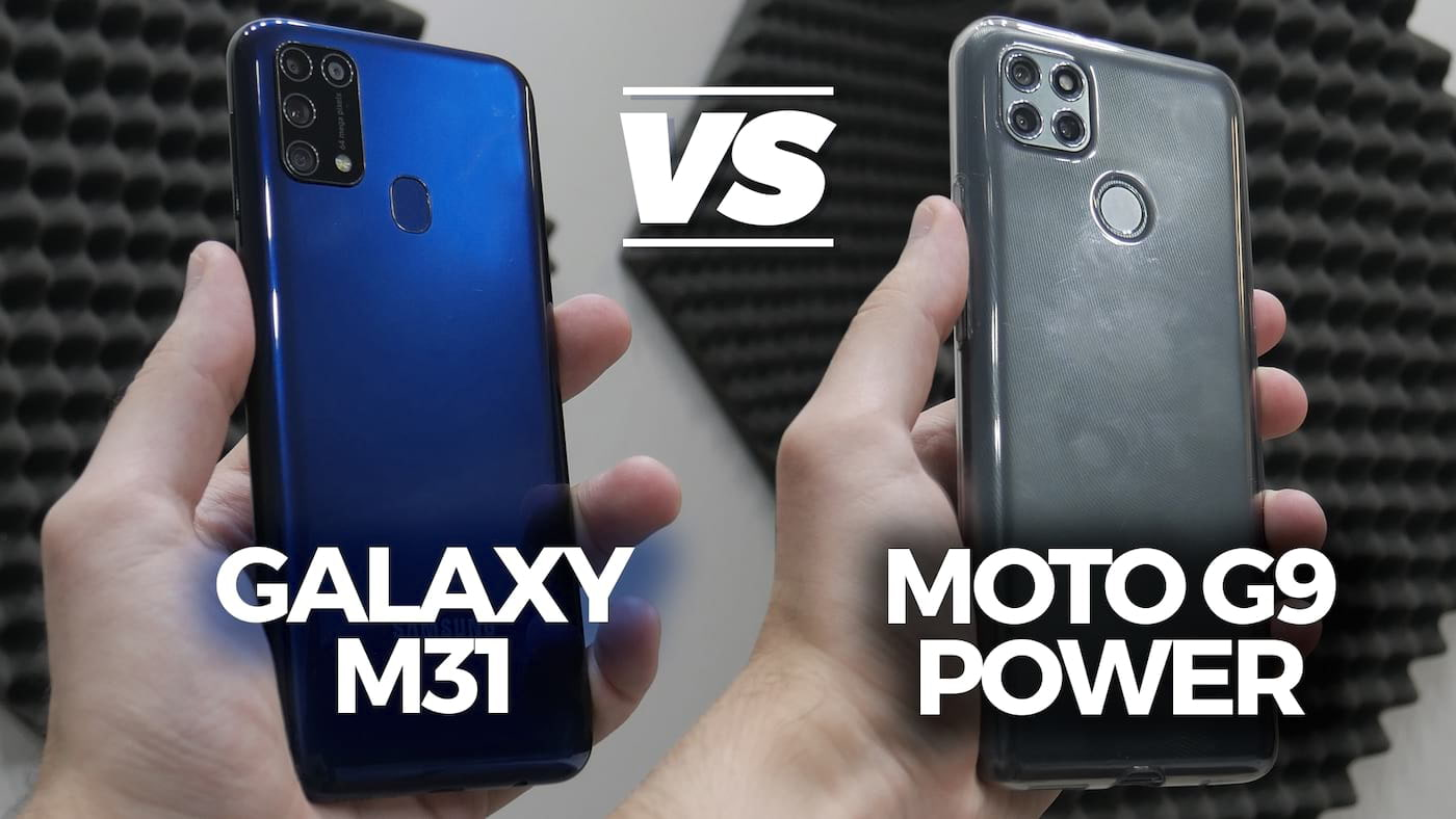 Comparativo Motorola Moto G9 Power vs Samsung Galaxy M31