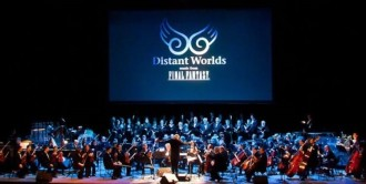 Orquestra Distant Worlds.