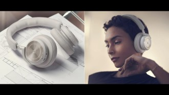 Headphone Bluetooth com ANC Bang & Olufsen Beoplay HX. Fonte: Bang & Olufsen