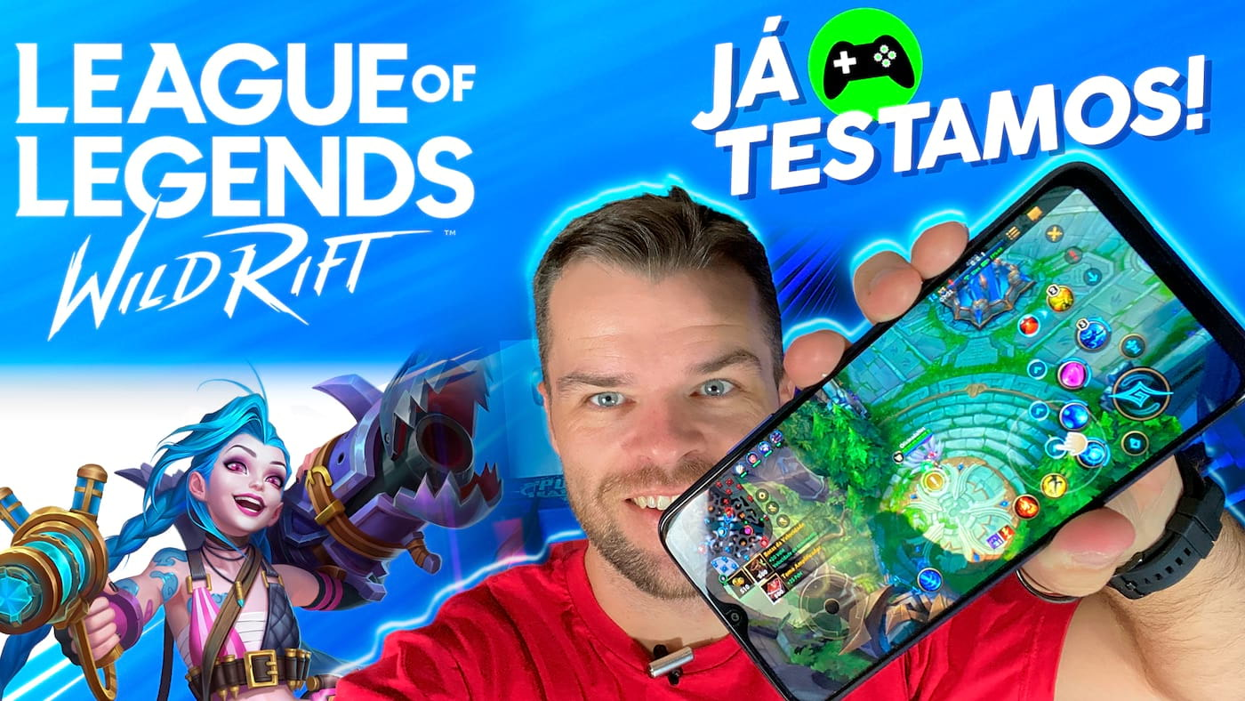 League of Legends: Wild Rift roda bem nos celulares? - RODA LISO