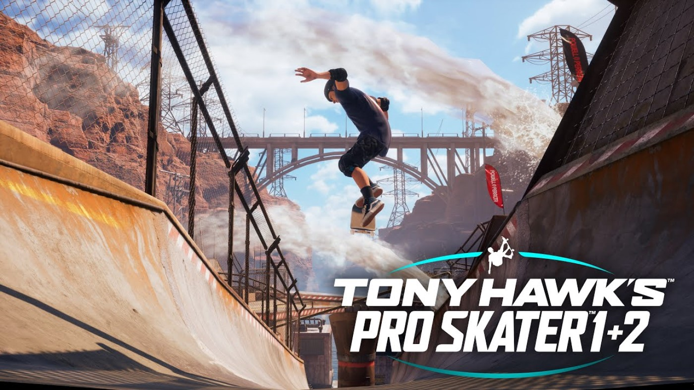 Tony Hawks Pro Skater 1+2 chega ao Nintendo Switch dia 25 de junho