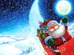 Siga o Papai Noel em tempo real
