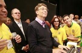 Bill Gates deixa o Brasil por problemas burocráticos