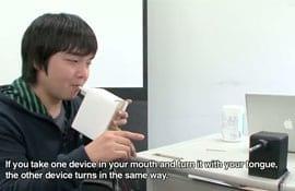 """Japones inventa dispositivo do """"beijo a distância"""""""