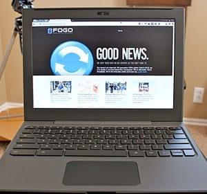 Google apresenta o Chromebook
