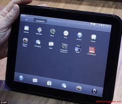 HP promete superar o iPad