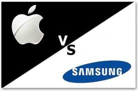Briga boa entre as empresas Apple e Samsung