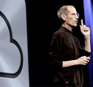 Steve Jobs apresenta o iCloud