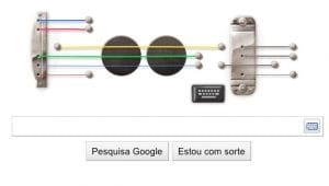 Google homenageia Les Paul com um Doodle