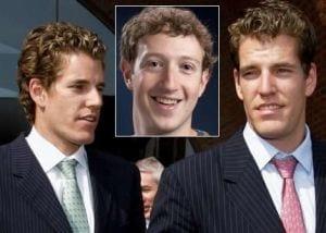 Após desistência, irmão Winklevoss voltam ao tribunal contra o Facebook