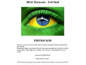 Site do IBGE é invadido por hackers