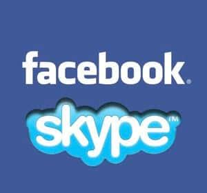 Facebook agora com v�deochamada pelo skype