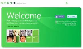 Microsoft deixa vazar imagem de suposta rede social