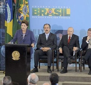 Presidente do Brasil anuncia novas medidas do Plano Brasil Maior