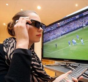 Sony, Samsung e Panasonic vão criar um óculos 3D padrão
