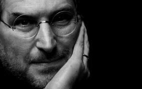 Apresentada uma das capas da biografia de Jobs