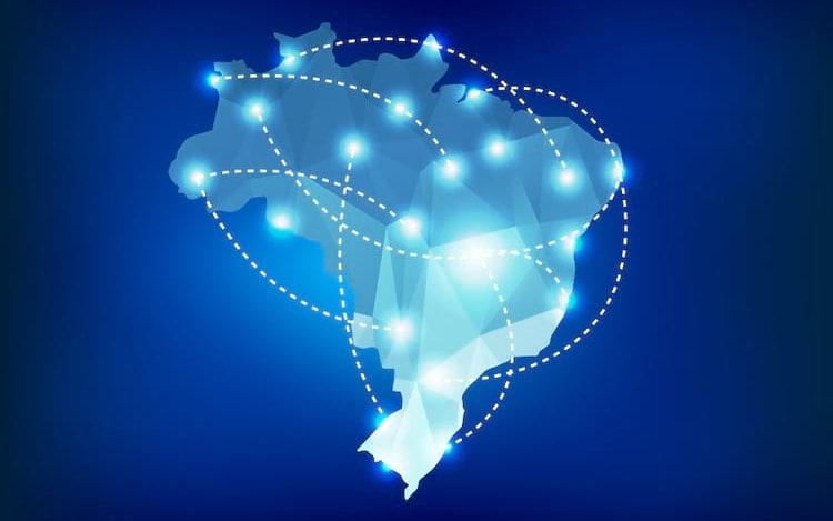 Começo da internet no Brasil