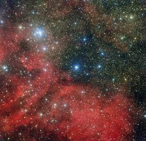 Telescópio MPG/ESO capta imagens de novas estrelas