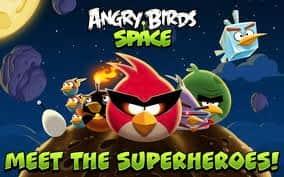 Angry Birds Space alcança 50 mi de downloads em 35 dias