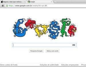 Google homenageia Keith Haring, um dos maiores artistas da Art Pop com o doodle do dia