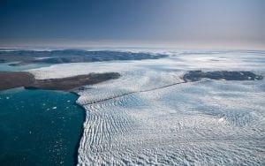 Qual é o seu nível de preocupação com o degelo das geleiras da Groenlândia?