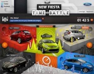 Ford cria um jogo no Facebook ao qual o prêmio será um New Fiesta zerinho
