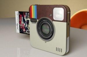 Designers italianos planejam criar o Instagram Socialmatic Camera