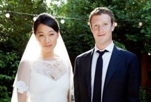 Casamento de Zuckerberg surpreende até convidados
