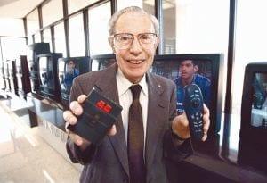 Morre aos 96 anos de idade o criador do primeiro controle remoto sem fio para TV