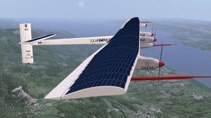 Avião movido a energia solar realiza primeiro voo intercontinental