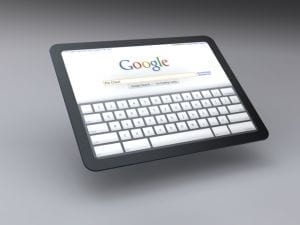 Google está muito próximo de lançar seu tablet
