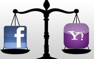 Briga entre Facebook e Yahoo pode estar perto de acabar