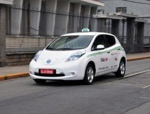 São Paulo irá adotar táxis elétricos