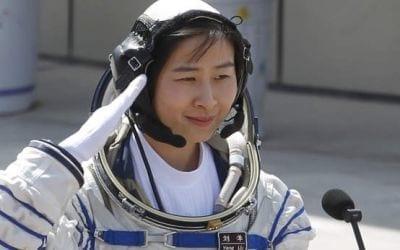 Liu Yang a primeira astronauta chinesa que é enviada ao espaço