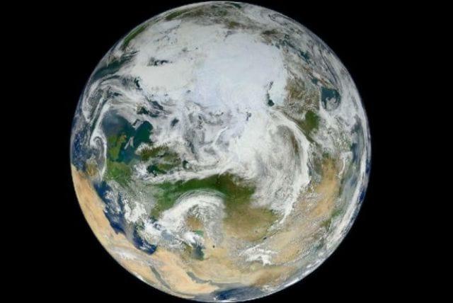 NASA divulga imagens inéditas da Terra