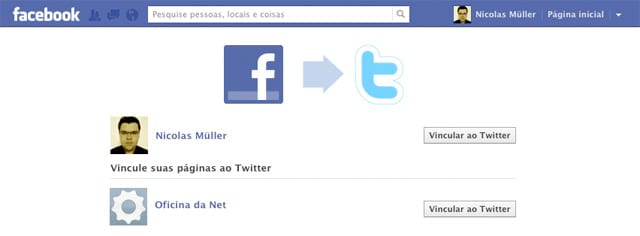 Como integrar a Fanpage do Facebook com o Twitter