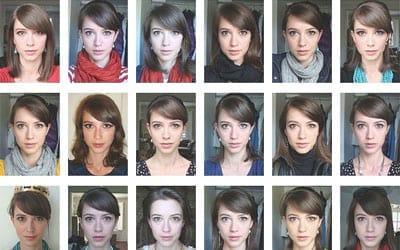 Uma foto por dia durante 5 anos e meio
