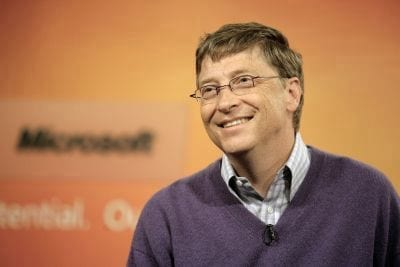 Telas touchscreen em e-readers nunca vão pegar, disse Gates em 1998