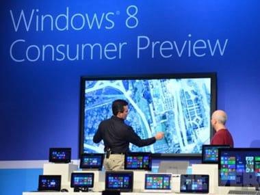 Microsoft compra empresa de telas gigantes touchscreen