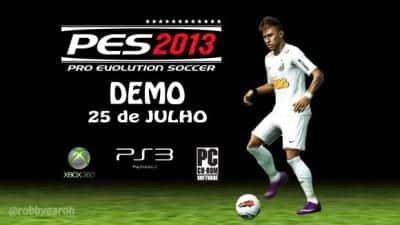 Pro Evolution Soccer 2013 em vers�o demo a partir do dia 25 de julho