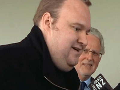 Kim Dotcom do Megaupload envia recado para Obama