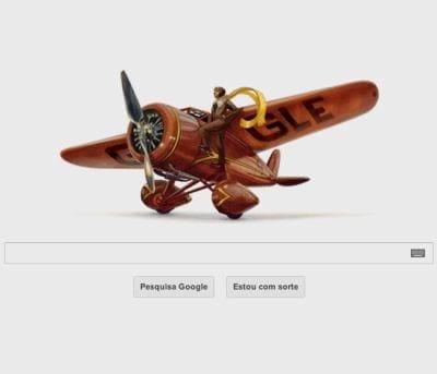 Google presta homenagem a pioneira da aviação norte-americana