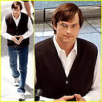 Novas fotos de Ashton Kutcher como Steve Jobs circulam na web