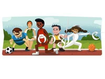 Google faz homenagem a Jogos Olímpicos de Londres