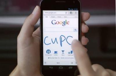 Google lança busca através de reconhecimento de textos escritos à mão