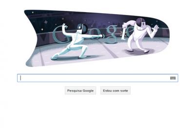 Google presta homenagem as olimpíadas de Londres