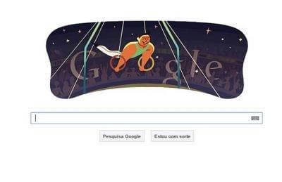 Google continua a homenagear os jogos Olímpicos